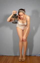 Pose Reference - Lantern by SenshiStock