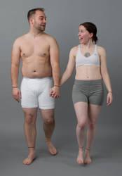 Walking Couple - SenshiStock To Go Outtake by SenshiStock