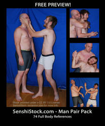 Man Pair Pack - Free Preview! by SenshiStock