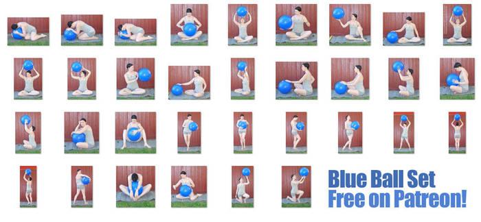 Blue Ball Set - FREE NOW! on Patreon by SenshiStock