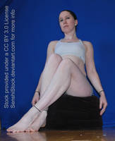 Low Perspective Sitting Pose Refererence by SenshiStock