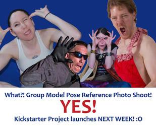 Group Pose Ref Kickstarter Launches NEXT WEEK! by SenshiStock