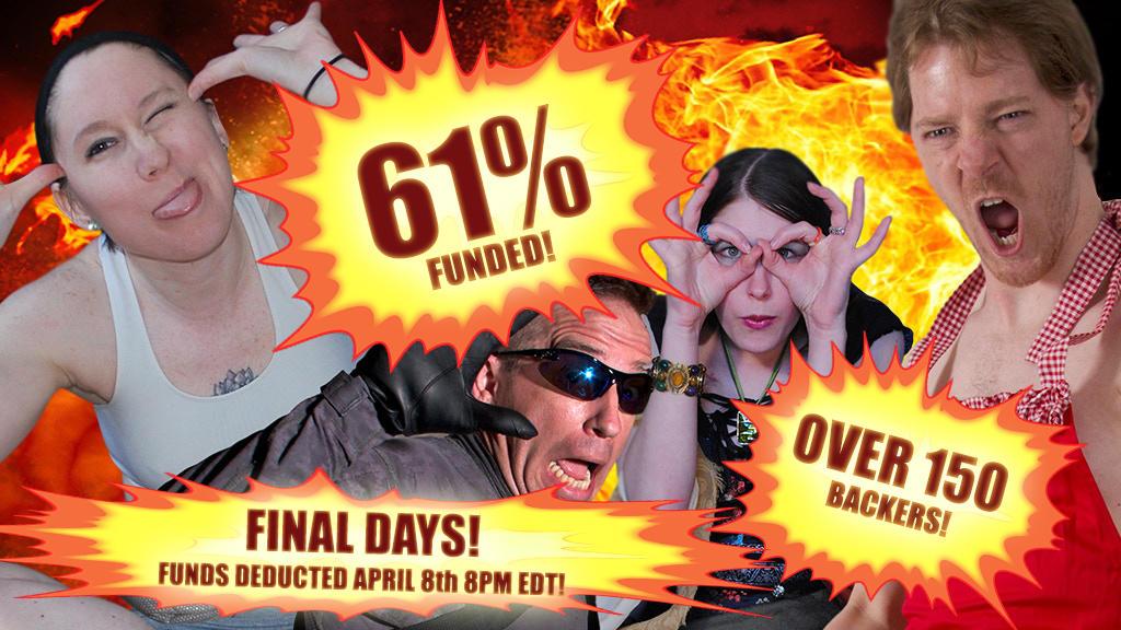 FINAL DAYS Group Pose Kickstarter! NEED YOUR HELP! by SenshiStock