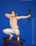 DEJ 10 - Crouching Archer by SenshiStock
