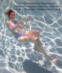 Distortion Makes Big Feet Underwater Pose Ref by SenshiStock