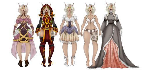 Maaith Suntress: Common Clothes by DerpQueenLily