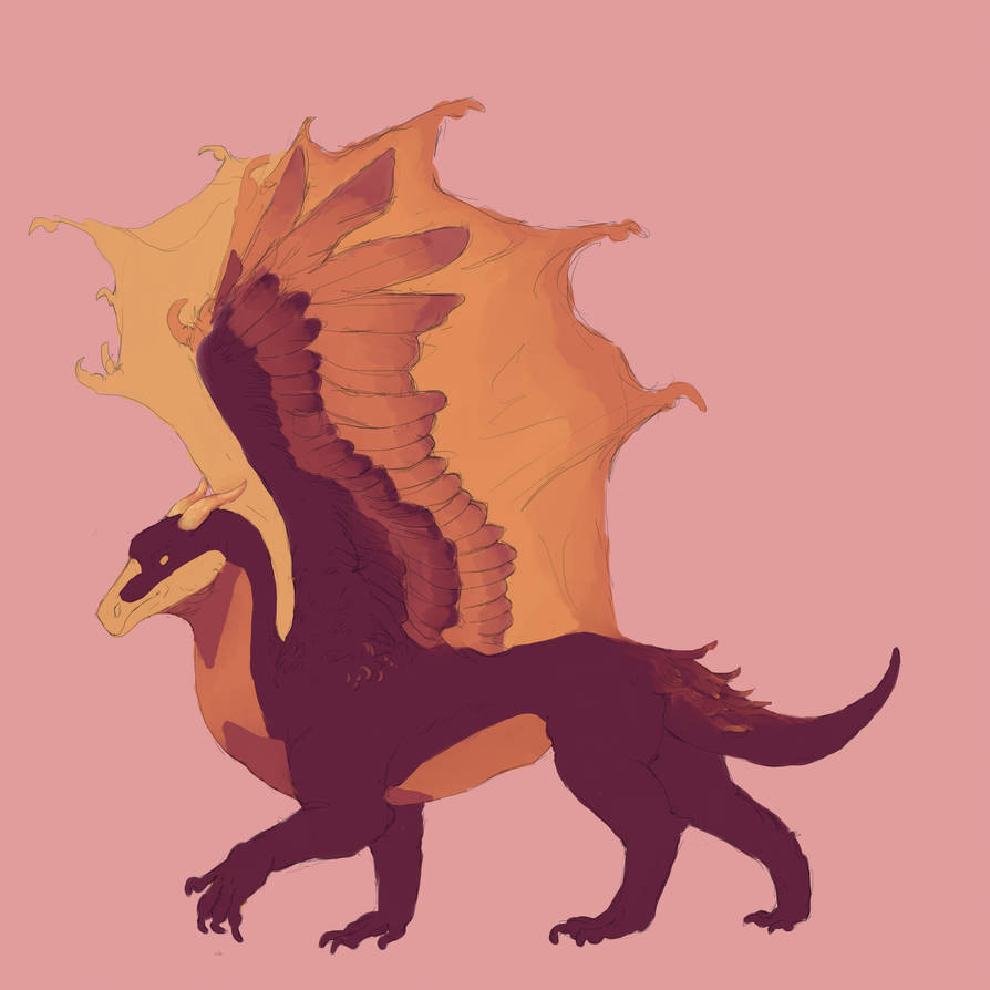 Dragon #2 OTA Adopt OPEN by The-Seafoam-Dragon