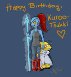 Happy Birthday KurooTsukki! by NellyPixit