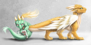 Dragons by Soltia