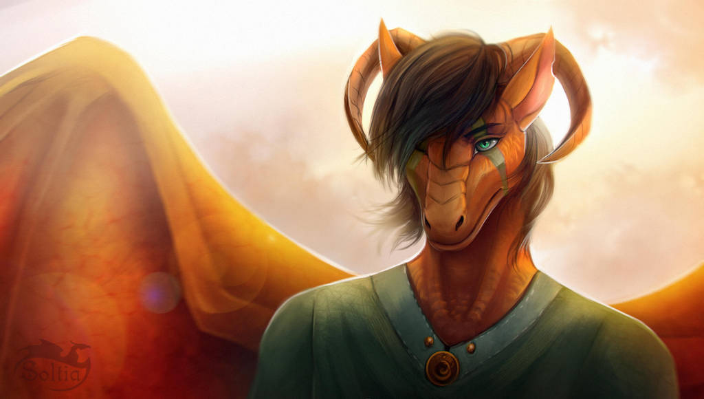 Dragon light by Soltia