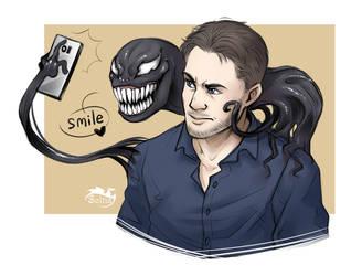 Venom and Eddie by Soltia