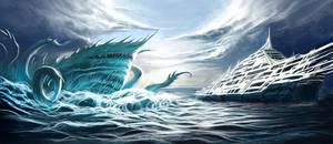 Devourer of the Deep by gegig