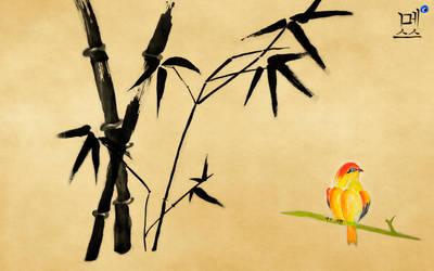 Korean Calligraphy by MeXuT