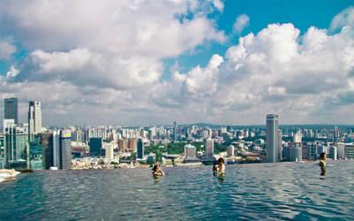 Marina Bay Sands, Singapore by MeXuT