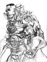 Old Abe sketch by BLACKSTAR-SHABACH