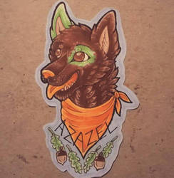 Headshot badge by Shadettaja