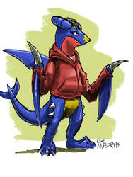 Garchomp Chipper (D32) by maugryph