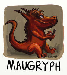 Maugryph Logo Idea(D39) by maugryph