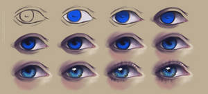 Realistic Eye Tutorial by artisticxhelp