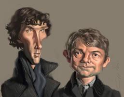 Sherlock by bangalore-monkey