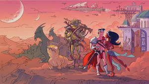John Carter: Off to Battle by bangalore-monkey