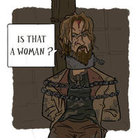Jamie Lannister, what a jerk... by bangalore-monkey