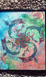 Transformational Mandala by D4NKD35IGN5