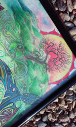 Transformational Mandala - Earth Element Detail by D4NKD35IGN5