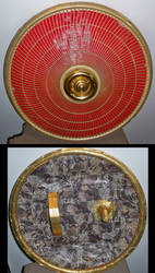 Gilded Duct tape Shield by Lord-Hayati