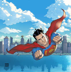 SUPERMAN by MIKEGILL