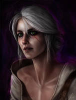 Ciri - Witcher 3 by Lockdevil