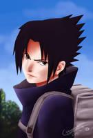 Sasuke Uchiha by Colltify