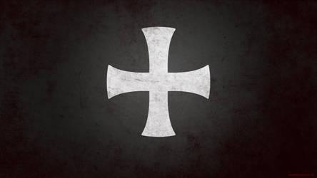 Knights Hospitaller Wallpaper (black) by Andein