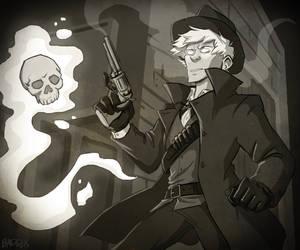 Gunslinger by QuietBadger