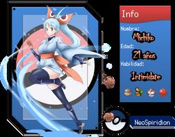 NeoMichiko - Ficha by MizuKatsu