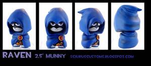 Raven munny by FlyingSciurus