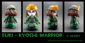 Suki custom munny by FlyingSciurus