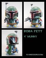 Boba fett custom munny by FlyingSciurus
