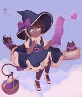 Witch of September Weaving by fr00tsnak
