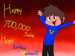 Happy 1 year/700,000subs/birthday Vent! (VT) by SoupaChrome