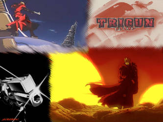 trigun wall by Red-Army235