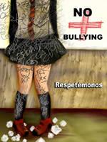 bullying afiche by Azalith