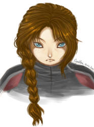 Katniss by Cyellen