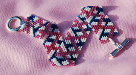 Pink and Blue Lace by To-Delicate-Designs