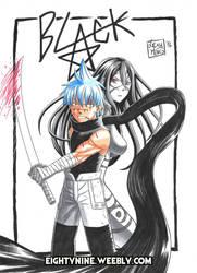Black Star e Tsubaki - Soul Eater by LexyMako