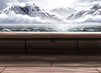 Viking Ship Deck by CantaloupeFish