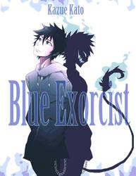Bleu Exorcist Oui Oui Exorcise Les Demons by Kannra21