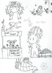 Daily Doodles 6 by Blackswan2714