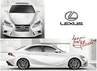 Lexus IS (contest entry) by Kurai-Aina