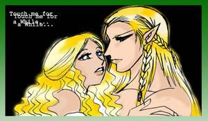 Legolas x Eowyn by TheIronbirdOfficial